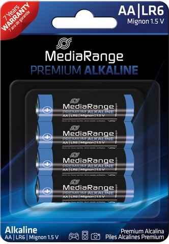 "Mediarange Batterien Typ ""AA"" 1,5 Volt - VE = 4 St"