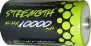 Akku Strength 1000mAh Ni-MH Mono D R20