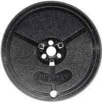 5er Pack Farbband - kompatibel zu Gruppe 1 / TA Universal - schwarz/rot (Nylon)