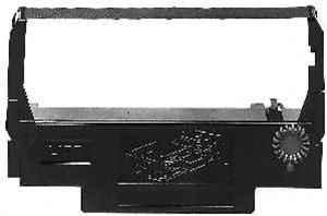 Farbband - kompatibel zu Epson ERC 30BR / ERC 34BR / ERC 38BR / Gruppe 655 - schwarz/rot (Nylon)