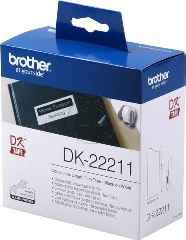 ORIGINAL Brother DK-22211 - Endlos-Etiketten - B= 29mm - L= 15,24m