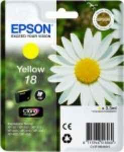 ORIGINAL Epson 18 / T1804 - Druckerpatrone gelb
