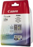 ORIGINAL Canon PG-40 / CL-41 - 2er Pack Druckerpatronen