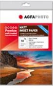 AGFAPHOTO -Tintenstrahlfotopapier - DIN A4 - matt beschichtet - 130g/qm - 50 Blatt