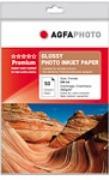 AGFAPHOTO -Tintenstrahlfotopapier - DIN A4 - hochglanz - 210g/qm - 50 Blatt