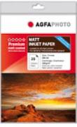 AGFAPHOTO -Tintenstrahlfotopapier - DIN A4 - matt - 220g/qm - 20 Blatt