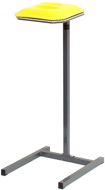 Abfallsammler - 1 x Deckel GELB - Standgestell - Für 90 Liter Säcke