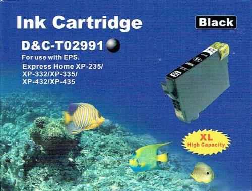 Druckerpatrone - alternativ zu Epson 29XL / T29914012 - schwarz
