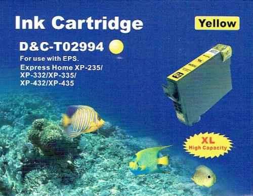 Druckerpatrone - alternativ zu Epson 29XL / T29944012 - gelb