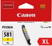 ORIGINAL Canon CLI-581XL Y / 2051C001 - Druckerpatrone gelb (High Capacity)