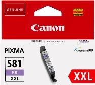 ORIGINAL Canon CLI-581XXL PB / 1999C001 - Druckerpatrone blau (Extra High Capacity)