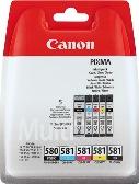 ORIGINAL Canon PGI-580 + CLI-581 / 2078C005 - 5er Multipack