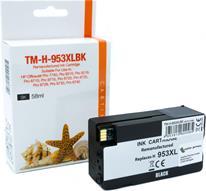 Druckerpatrone - alternativ zu HP 953XL BK / L0S70AE - schwarz