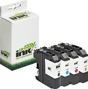4er Pack MYGREEN Druckerpatronen - alternativ zu Brother LC-123