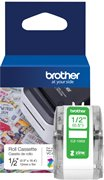 ORIGINAL Brother CZ-1002 Farbetikettenrolle - 12mm breit - 5m lang