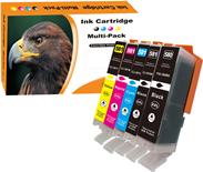 5er Pack Druckerpatronen - alternativ zu Canon PGI-580XXL / CLI-581XXL