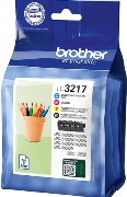 ORIGINAL Brother LC-3217 VALDR - 4er Pack Druckerpatronen