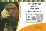 5er Pack Druckerpatronen - alternativ zu Canon PGI-550XL / CLI-551XL