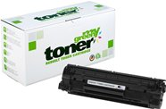 MYGREEN Rebuild-Toner - kompatibel zu HP 85A / CE285A / Canon 725 - schwarz